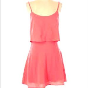 Abercrombie & Fitch Sundress Coral Size Small